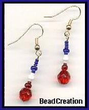 Classy Glass American Earrings Show your spirit