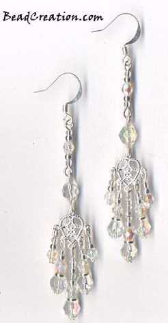 crystal chandelier earrings heart earrings chandelier long earring