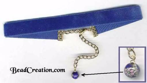 blue velvet necklace,velvet choker