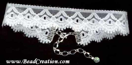 white lace choker,prom necklace,wedding jewelry