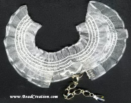 white stretchy choker