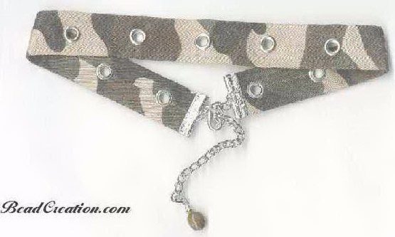 camouflage necklace, accessories