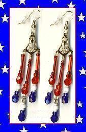 American Chandelier Earrings