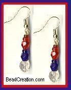 Red, White, & Blue Patriotic Jewelry