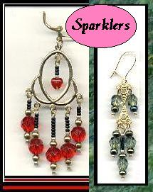 beaded earrings, chandelier earrings, long earring designs, handcrafted beaded chandelier earrings